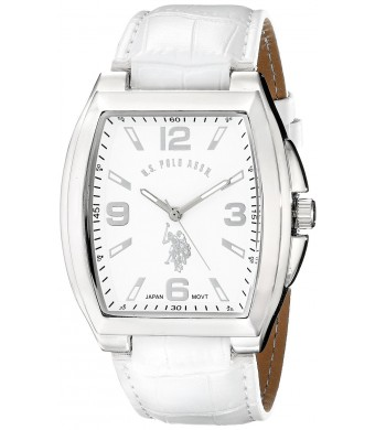 U.S. Polo Assn. Classic Men's USC50183 Analog Display Analog Quartz White Watch
