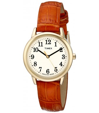 Timex Women's TW2P688009J Easy Reader Analog Display Analog Quartz Brown Watch