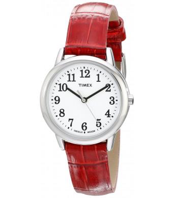 Timex Women's TW2P687009J Easy Reader Analog Display Analog Quartz Red Watch