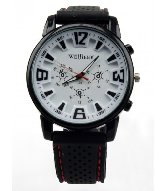 Bear Motion Design Casual Sport Watch (BMWH071) with White Dial Plate