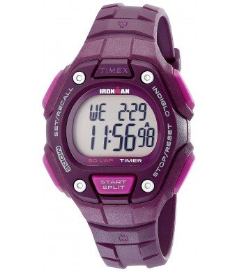 Timex Women's TW5K897009J Ironman Classic 30 Digital Display Quartz Purple Watch
