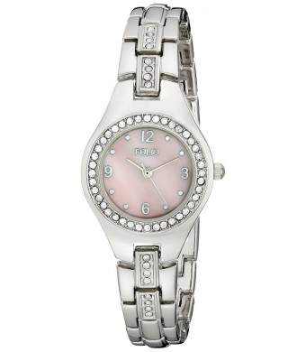 Folio Women's FMDFOL018 Analog Display Quartz Silver Watch