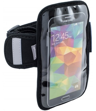 Arkon Sports Running Jogging Neoprene Smartphone Armband iPhone 6 with Case Samsung Galaxy S6 S5 Note 4 3 HTC One M8