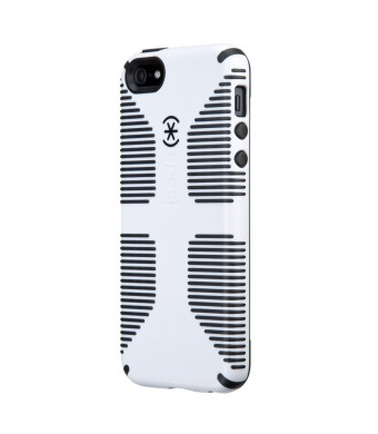Speck Products CandyShell Grip Case for iPhone 5 and 5S - White/Black