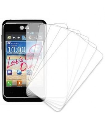 MPERO LG Motion 4G MS770 5 Pack of Screen Protectors