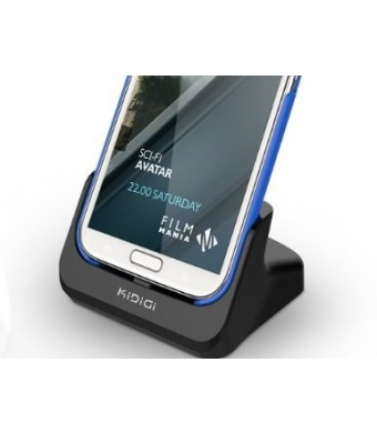 KiDiGi Cover-mate Desktop Cradle with HDMI output for Samsung Galaxy Note II N7100