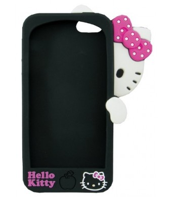 Sanrio Hello Kitty Hide and Seek 3D iPhone 5 Case (Black)