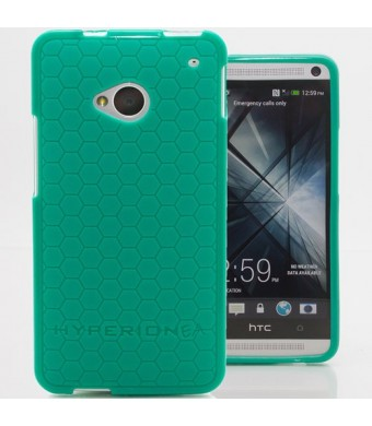 Hyperion HTC One M7 HoneyComb Matte Flexible TPU Case and Screen Protector (Compatible with Sprint HTC One, T-Mobile HTC One, and ATandT HTC One) Hyp
