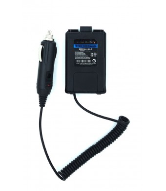 NEW Original Battery Eliminator Car Charger For BAOFENG UV-5R UV-5R+ UV-5RA UV-5RA+ UV-5RB UV-5RC UV-5RD UV-5RE UV-5RE PLUS