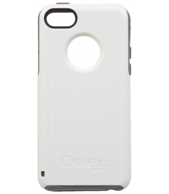 OtterBox Commuter Series Case for iPhone 5c - Retail Packaging - Gray/White