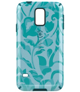 Speck Products Samsung Galaxy S5 CandyShell Inked Case - Wallflowers Blue/Atlantic Blue