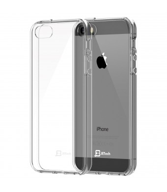 iPhone 5 Case, JETech Apple iPhone 5/5S Case Bumper Cover Shock-Absorption Bumper and Anti-Scratch Clear Back for iPhone 5/5S (Crystal Clear)