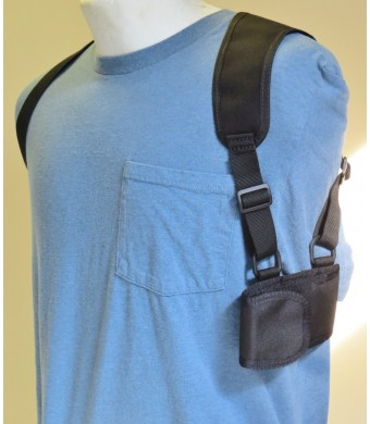 Cell Phone Shoulder Holster for Galaxy Note 2, 3 and 4