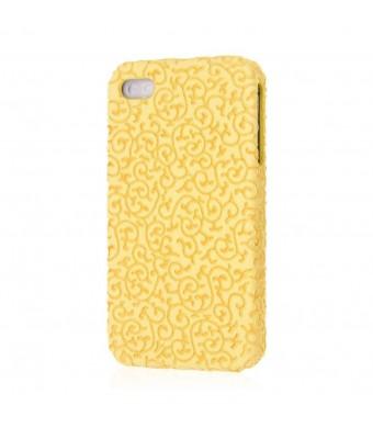 iPhone 4S Case, EMPIRE Signature Series Slim-Fit Case for Apple iPhone 4 / 4S - Vintage Gold Vines