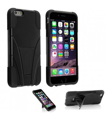 iPhone 5s Case, VAKOO [Slim Fit] iPhone 5s Case / iPhone 5 Case Armor Kickstand Cover Dual Layer Defender Rugged Hybrid Shield Protection Shockproof