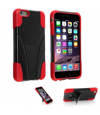 5s Case, iPhone 5and5s Case, VAKOO iPhone 5 5S Case Dual Layer Defender Shockproof Drop proof Shield Series with Kickstand High Impact Hybrid Armor S