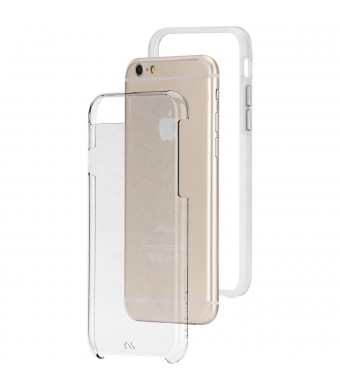 Case-Mate iPhone 6 Tough Naked - Clear w/ Clear Bumper