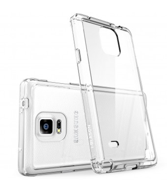 Galaxy Note 4 Case, i-Blason [Scratch Resistant] Halo Series Hybrid Clear Case / Cover with TPU Bumper for Samsung Galaxy Note 4 [SM-N910S / SM-N910C