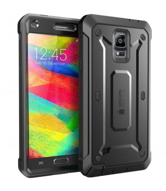 Samsung Galaxy Note 4 Case, SUPCASE [Heavy Duty] Belt Clip Holster Case for Galaxy Note 4 [Unicorn Beetle PRO Series] Full-body Rugged Hybrid Protect