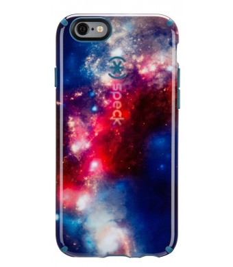 Speck Products SPK-A3071 CandyShell Inked Case for iPhone 6 - SuperNova Red Pattern/Tahoe Blue