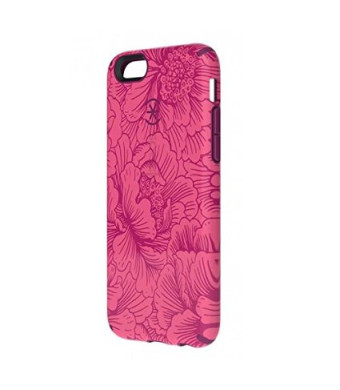 Speck Products SPK-A3064 CandyShell Inked Case for iPhone 6 - FreshFloral Red Pattern/Boysenberry Purple