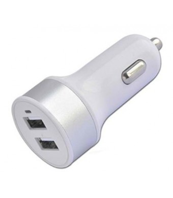 Galaxy S5 Car Charger, Samsung Galaxy S6 Car Charger [Dual Port] USB Port Portable Travel Rapid Charge Auto Adapter For The Apple iPhone 6, iPhone 6