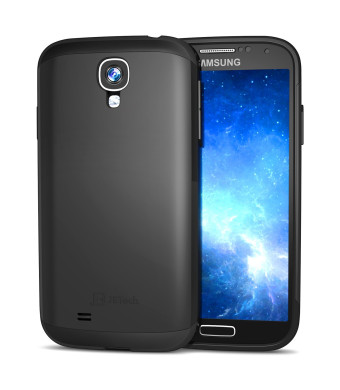 S4 case, JETech Super Protective Samsung Galaxy S4 Case Slim Ultra Fit for Galaxy S IV Galaxy SIV i9500 (Black)