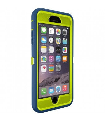 OtterBox iPhone 6 Plus Case - OtterBox Defender Series, Frustration-Free Packaging - ELECTRIC INDIGO (CITRON / DEEP WATER)(5.5 inch)
