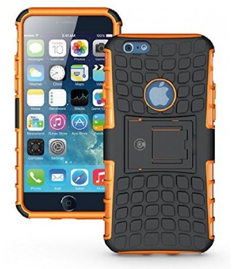 iPhone 6 Case, iPhone 6 Armor cases- [DragonSkin?] [4.7 Inch] Tough Armorbox Dual Layer 2 in 1 Rugged Hybrid Hard/Soft Drop Impact Resistant Protecti
