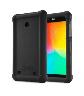 LG G Pad 7.0 Case - Poetic LG G Pad 7.0 Case [Turtle Skin Series] - [Corner/Bumper Protection] [Grip] [Sound-Amplification] Protective Silicone Case