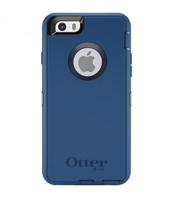 OtterBox Defender Series for iPhone 6 Case - Retail Packaging - Ink Blue (Admiral Blue/ Deep Water)