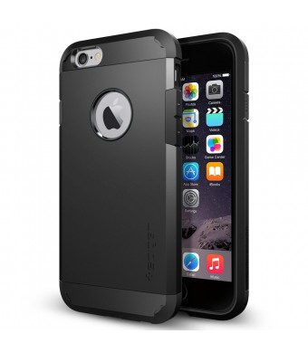 iPhone 6 Case, Spigen [HEAVY DUTY] Tough Armor Case for iPhone 6 (4.7-Inch) - SF Smooth Black (SGP10968)