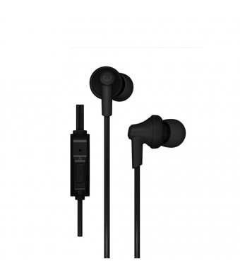 GranVela In-Ear Headphones Phrodi POD-616 Earbuds High Performance Enhanced Bass Earphones With Microphones,3.5mm Jack (3 Different Size Ear Inserts