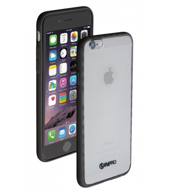 "iPhone 6 case, Nupro Lightweight Projective Bumper Case Cover for Apple iPhone Plus (4.7""  screen) - Clear/Black"