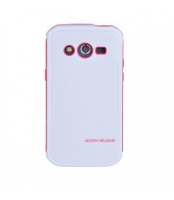 Body Glove Fusion Pro Case for Samsung Galaxy Avant - White and Pink
