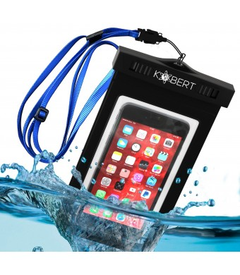 Kobert Waterproof Case (Deluxe Edition) - Premium Quality Case - Talk And Take Photos Through The Dry Bag - FREE LIFETIME REPLACEMENT
