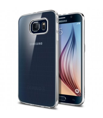 Galaxy S6 Case, Spigen [Ultra-Thin] Galaxy S6 Case Slim **NEW** [Liquid Air] [Liquid Crystal] Premium Semi-transparent Super Lightweight / Exact Fit