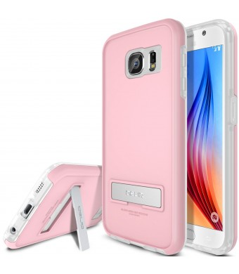 Galaxy S6 Case, OBLIQ [HEAVY DUTY] Samsung Galaxy S6 Cases [SKYLINE ADVANCE][Pink/Frost White]-TOUGH RUGGED ARMOR Protection