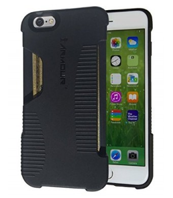 * TODAY 40% OFF * iArmour iPhone 6 Wallet Case | RFID Blocking Wallet Case | Military Grade  Protection Against Credit Card Skimmers and Phone Damage