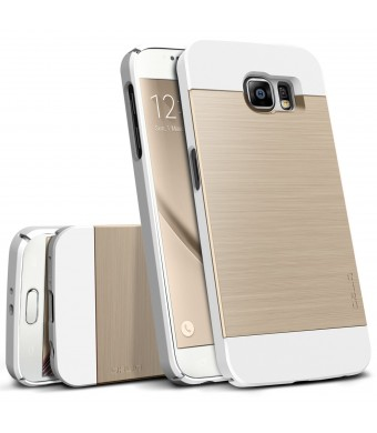 Galaxy S6 Case, Obliq [Slim Meta] Ultra Slim Fit [All Around Protection] Samsung Galaxy S6 Cases [White Gold Platinum]