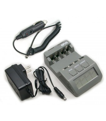 BT-C700 V2.1 Battery Charger Analyzer Tester for AA AAA NiMH NiCd rechargeable batteries with Car Adapter 12V