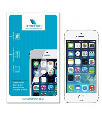 ScreenSkin Pack of 5 High Quality Clear Screen Protectors Guard for Apple iPhone 5 5S 5C (Clear)