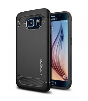 Galaxy S6 Case, Spigen [Resilient] Galaxy S6 Case Impact Protection **NEW** [Capsule Ultra Rugged] [Black] Ultimate protection from drops and impacts