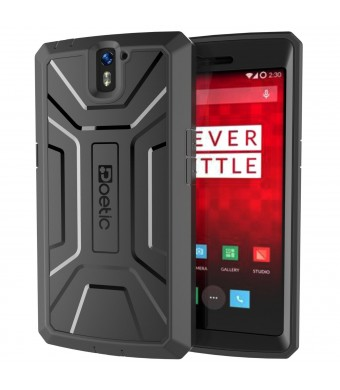 OnePlus One Case - Poetic [Revolution Series] - [Heavy Duty] [Dual Layer] Complete Protection Hybrid Case with Built-In Screen Protector for OnePlus