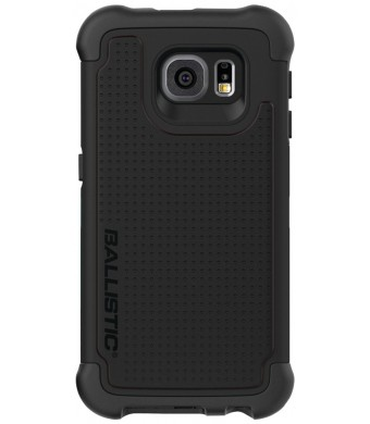 Ballistic Samsung Galaxy S6 Tough Jacket Case - Retail Packaging - Black