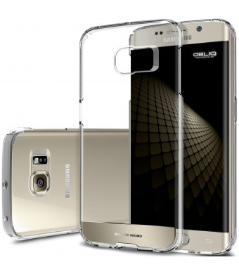 Galaxy S6 Edge Case, Obliq [Invisible Drop Protection] Samsung Galaxy S6 Edge Cases [NaKED SHIELD][Gold Platinum]