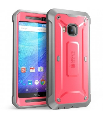 HTC One M9 Case, SUPCASE Full-body Rugged Holster Case with Built-in Screen Protector for HTC One M9 (2015 Release), Unicorn Beetle PRO Series - Reta