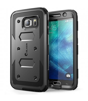 Galaxy S6 Case, [Armorbox] i-Blason built in [Screen Protector] [Full body] [Heavy Duty Protection ] Shock Reduction[Bumper Corner] for Samsung Galax