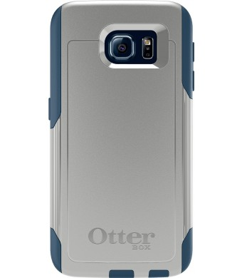 OtterBox COMMUTER SERIES for Samsung Galaxy S6 - Retail Packaging - Casual Blue (Sleet Grey/Dark Deep Water Blue)