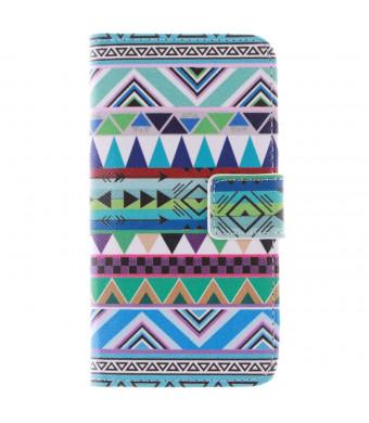 S6 Edge Case, Galaxy S6 Edge Case,Nancy's Shop *New* Fashion [Kickstand Feature] Sparkle Pattern Premium Pu Leather[Wallet Feature] Type Magnet Desig